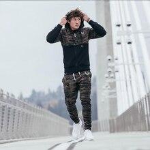 Camo Print Hoodie and Pants