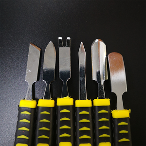 6 шт./компл. бренд prying Opening ремонтный набор инструментов для мобильного телефона Ноутбук с двумя головками металлический Spudger Ручные Инструменты Наборы Crowbar
