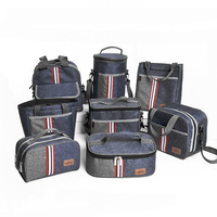 Oxford Thermal Lunch Bag Insulated Cooler Storage Women Kids Food Bento Bag Portable Leisure Accessories Supply