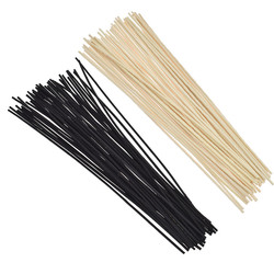 50pcs 30cm Extra Long Rattan Reed Diffuser Replacement Sticks 3mm Oil Diffuser Refill Sticks DIY Handmade Home Decor Wholesale