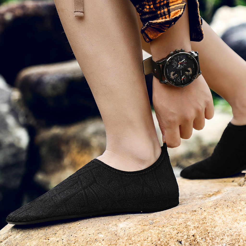 Sneakers Men's Summer Shoes 2019 New Plus Size 35-46 Comfortable Men Casual Shoes Mesh Breathable Loafers Flats Shoes Footwear#3