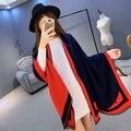 2016 Mulheres Da Moda Inverno Xailes Do Pashmina Cashmere Lenço Das Mulheres Cachecol Cobertor Patchwork Wraps Scarf longo 195*65 cm