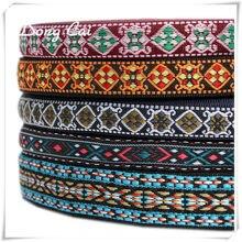 d2b158d21276 12yards lot Embroidery Ethnic Jacquard Webbing Woven Tape Vintage Lace  Ribbon Trim Collar Tribal Boho DIY Handmade Accessories