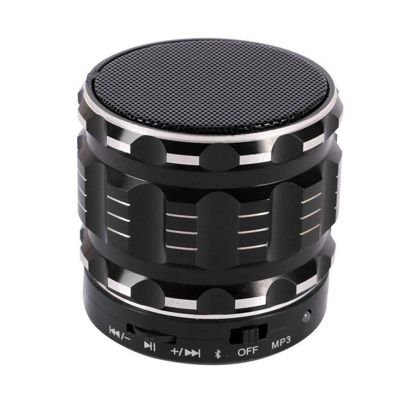 Bluetooth Wireless Portable Mini Speakers Metal Steel Smart Hands Free Speaker With FM Radio
