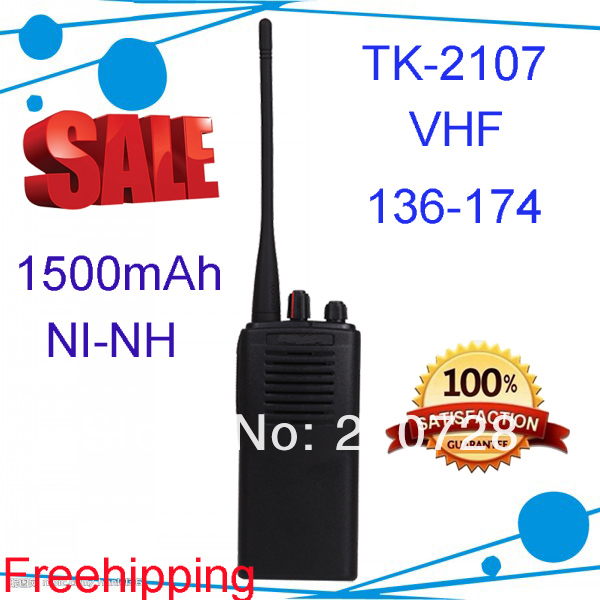 TK-2107 walkie talkie TK2107 radio vhf 136-174mhz 2 way professional 2 way intercom купить цепь и звезды ваз 2107
