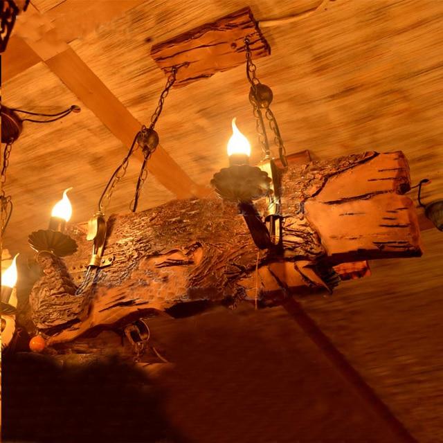 Chine Fournisseur Industriel Vintage Bois Flotté Cadre Lampe