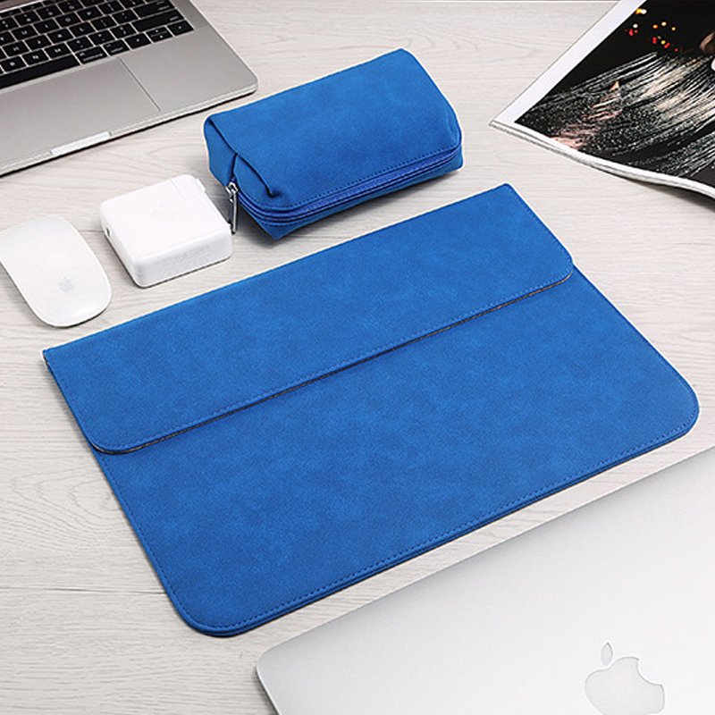 2019 New Luxury Laptop Sleeve Bag For Macbook Air 13 Touch ID 2018 Pro 13 11 12 15 Bags Case For Xiaomi 13.3 15.6 Notebook Cover