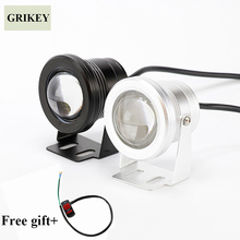2PCS 10W LED Car Fog Light font b Lamp b font Round Headlight Spotlight For Car