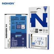 Original NOHON Battery For LG G4 H818 H815 H819 H810 BL-51YF Rechargeable Li-ion Internal Battery Bateria 3000mAh High Capacity