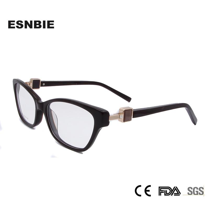 웃 유ESNBIE alta calidad mariposa gafas marcos con diamantes de ...