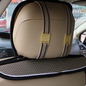 Image 4 - รถด้านหลังระบายอากาศเครือข่ายรถกลับที่นั่งPad/ฤดูร้อนMatที่นั่งLuxury/คุณภาพสูงBreathableที่นั่งฝาครอบ