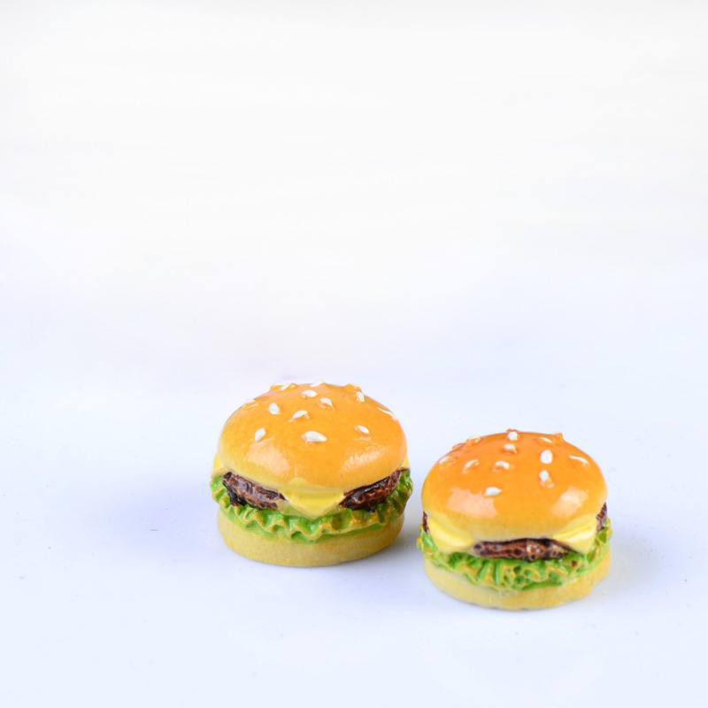 5pcs mini Hamburger bread American Girl Doll School Accessories Review Backpack, Lunch Set,Dolls & Accessories for doll,Jsuny