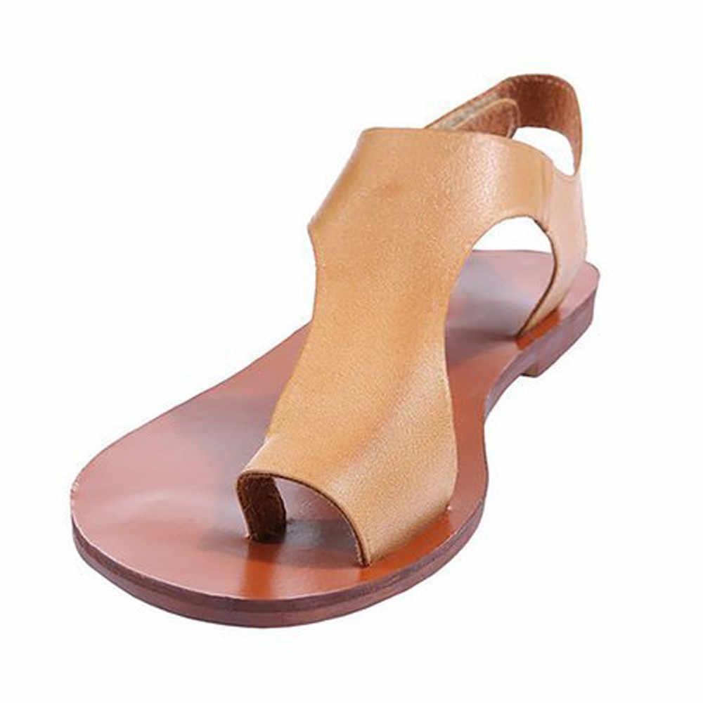 fd4a8858a45f Youyedian women sandals clip toe flat sandals summer casual ladies sandals  shoes roman sandalia feminina jpg