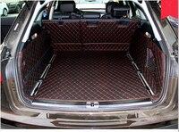 Хорошо! Специальные материалы ствола для Audi A6 Allroad 2016 водонепроницаемые ботинки ковры грузового лайнера для A6 Allroad 2015 2013, Бесплатная доставк