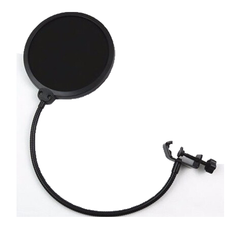 Pop Filter Microphone/ Windscreen With Swivel Mount 360 Flexible Holder For Blue Yeti Microphone