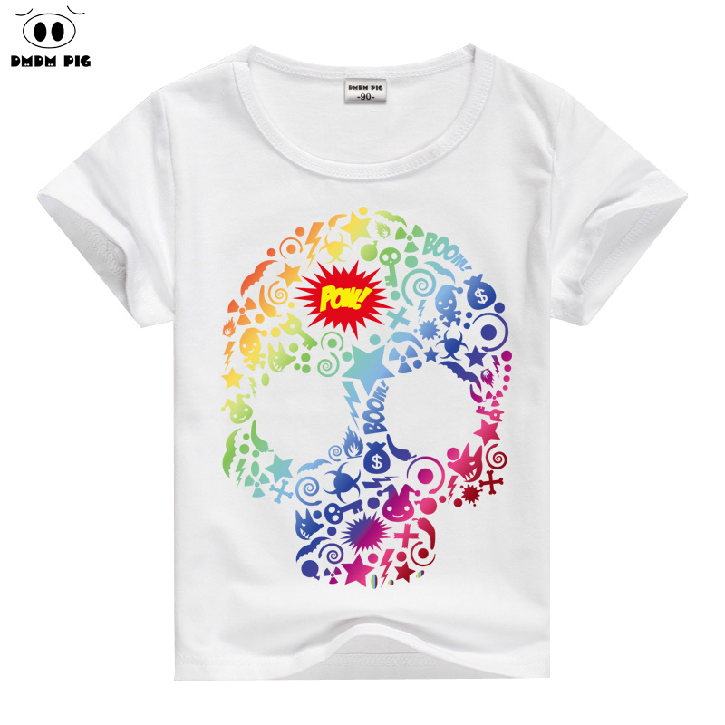 DMDM PIG 2017 New T-Shirts For Girls Top Short Sleeve T Shirt For Girls t shirts Kids t-shirt Clothing Baby Boy Girl Clothes
