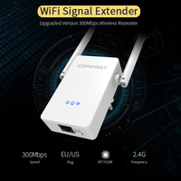 Wireless Wifi Repeater 300Mbps 802.11n/b/g Network Extender Signal Amplifier Signal Booster Repetidor CF-WR302S V2 Wholesale