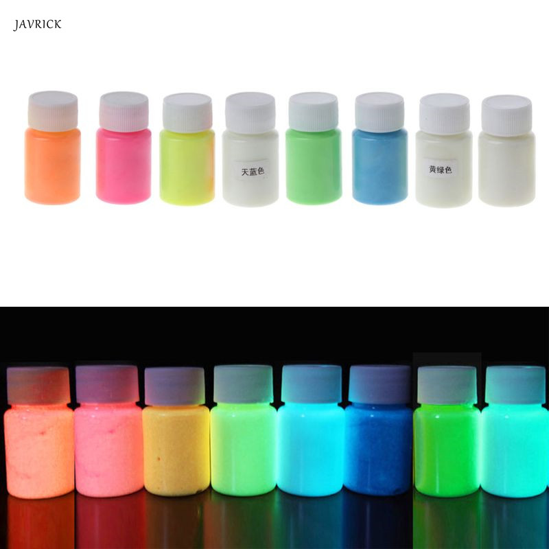 Glow In The Dark Liquid Luminous Pigment Non-Toxic For Paint Nails Resin Makeup