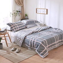 Soft Comforter Bedding Sets Spring Summer Cotton Bed Linens Quilt Pillowcase Twin Full Queen Size Kids Adult