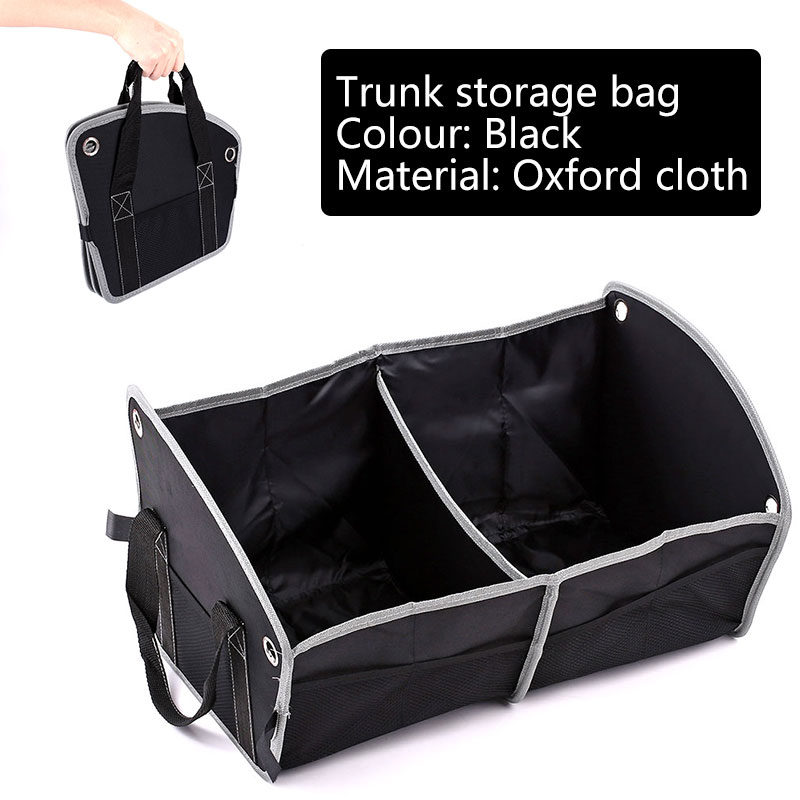 Vehemo Ткань Оксфорд автомобиль хранение АВТО ХРАНЕНИЕ багажника мульти-использование для хранения багажника мульти-функция два отделения автомобиля внедорожник