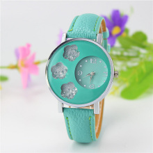 Creative Top Brand Women's Diamod Watches Unique Design Flowing Flower Star Patter Luxury Rhinestone Vintage For Lady Gift Clock