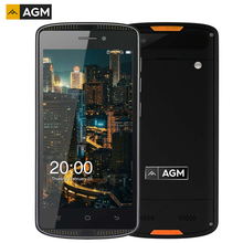 "AGM X1 mini Triple Proofing 2GB/16GB 4000mAh IP68 Waterproof Shockproof 5.0"" Android 6.0 Qualcomm MSM8909 Quad Core 4G FM"