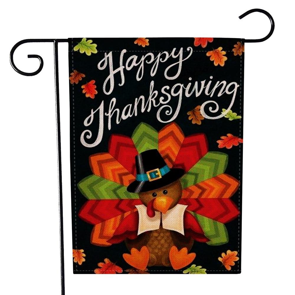 2018 New Colorful Happy Thanksgiving Pilgrim Happy Turkey ...