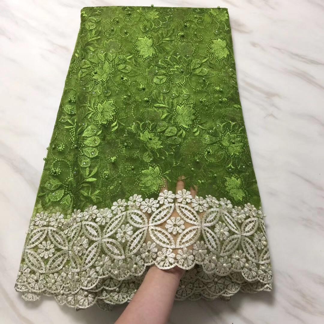 Nigerianischen Spitze Stoff 2018 Hohe Qualität Spitze Weiß Guipure-spitze Stoff Satin Französisch Pailletten Tüll Spitze Für Jäten Kleid