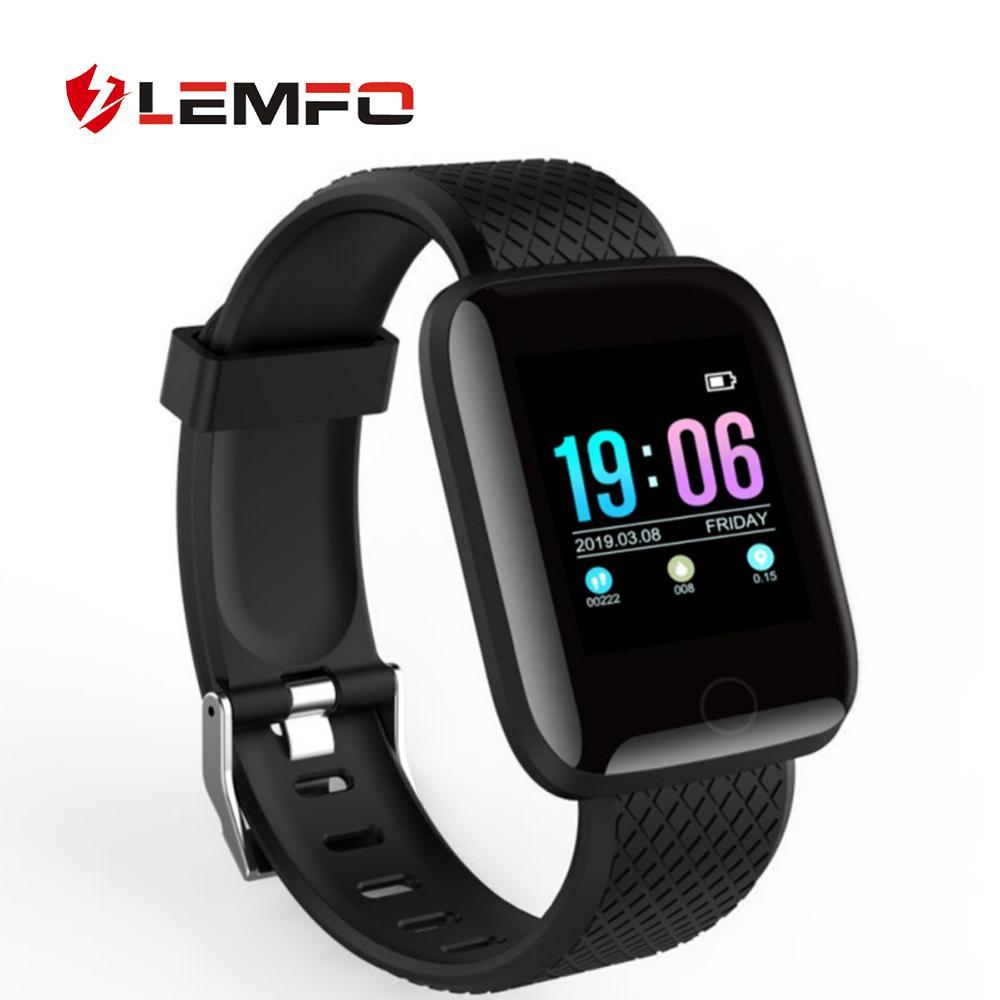 LEMFO 2019 New Smart Watch Men Women Heart Rate Blood