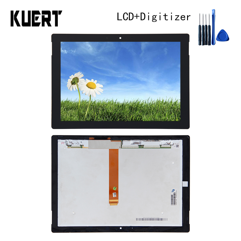Panel LCD Combo Touch Screen Digitizer Glass LCD Display Assembly For Microsoft Surface 3 RT3 1645 Accessories Parts Free Tools free shipping touch screen with lcd display glass panel f501407vb f501407vd for china clone s5 i9600 sm g900f g900 smartphone