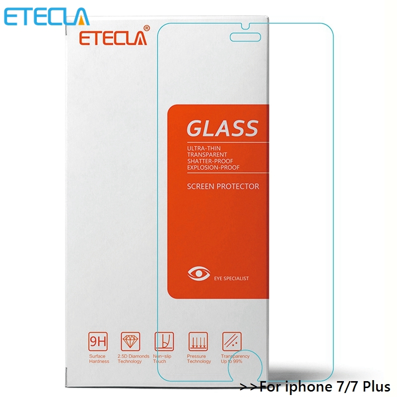For Iphone 7 Tempered Glass Iphone 7 Plus Glass For Iphone7 Ipone 7 I Phone7 Plus Screen Protector 9H 2.5D Glass Film