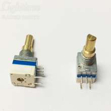 5x acessórios de rádio potenciômetro/interruptor de volume de potência para rádios de veículos icom f21 f24 f26