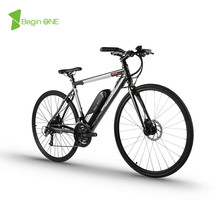 26 inches  Electric  Road bikes 36v lithium-ion battery 250 w motor drive 27 speed Suspension electric road bicycle road ebike