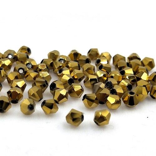 Новинка 5301 4 мм 1000 шт стеклянные кристаллы бусины биконус граненый свободный разделитель бисер бусины Fantas AB DIY Изготовление ювелирных изделий U выбор цвета - Цвет: 217