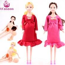 9318a7dbae36f Ucanaan新しい教育リアル妊娠中の人形スーツお母さん人形を持っている赤ちゃんで彼女おなか親友と遊ぶ女の子おもちゃ最高ギフト