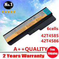 Wholesale New 6cells Laptop Battery FOR LENOVO 3000 G430 G530 G450 IdeaPad V460 Series 42T4585 42T4586