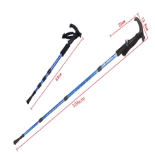 Nordic walking poles Climbing Sticks Ultralight Folding Walking Cane Hiking Walking Sticks Trekking Pole AntiShock Hiking Poles