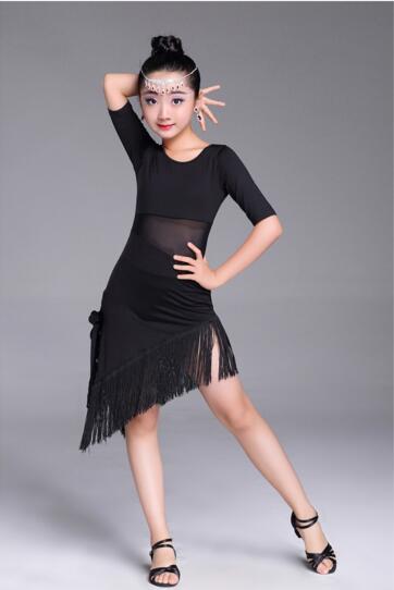 603588499 2018 baile latino falda mujeres falda de actuación práctica falda irregular  de la Rumba Samba Tango
