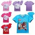 Новый 2016 лето мальчики футболка дети ребенок Тайная Жизнь Животных детская одежда одежда для девочек футболки Мальчик Топы 4-12 лет