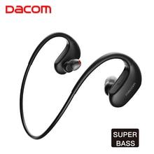 DACOM L05 IPX7 Waterproof Sports Hand Free Ear Wireless Bluetooth Earphone Headphone Stereo Headset Bass DJ mobile Headphones