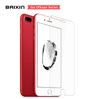 9H  Ultra-thin Premium Tempered Glass for iPhone 5s SE 5c 6 6s 7 plus 8 plus X XS XR XS Max Screen protector glass  + Clean kit