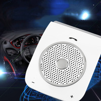 Wireless Bluetooth Handsfree Car Kit Speakerphone Bluetooth Hands free Stereo Bass For Smart Phone