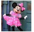2016 minnie del traje mascotte della rosa minnie mouse costume mascotte della spedizione gratuita