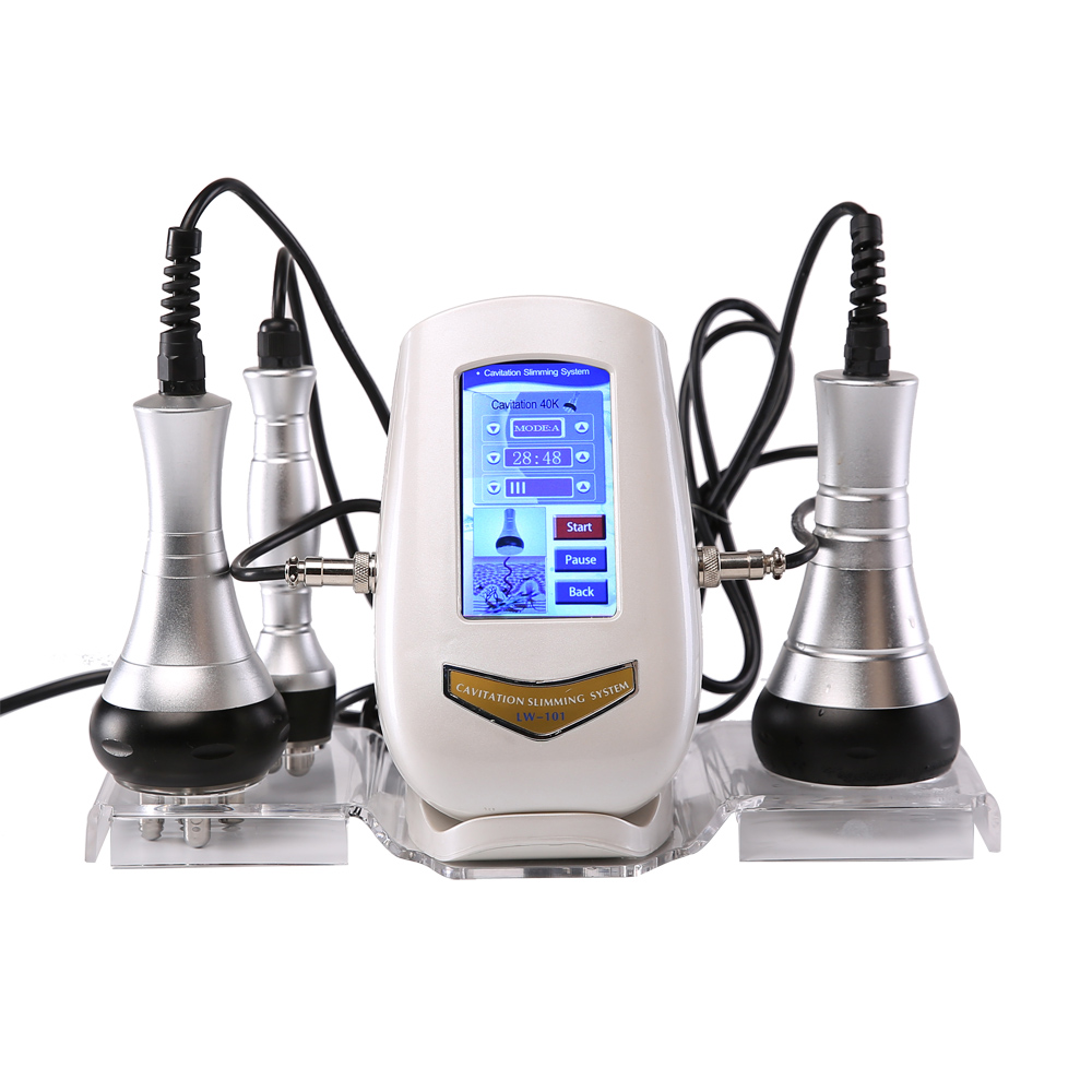 40K fat detector RF multipole radio frequency Ultrasound Fat Explosion Weight Loser Facial Cosmetic Apparatus free