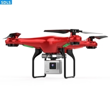 720P Wide Angle WIFI FPV HD Camera 2.4G 4CH RC Drones Quadrocopter Helicopter Set Height Hovering One Key Return Trajectory Fly