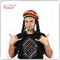 Косплей раста-панк шапочка с дреды мужчины Hat парик QY-918735