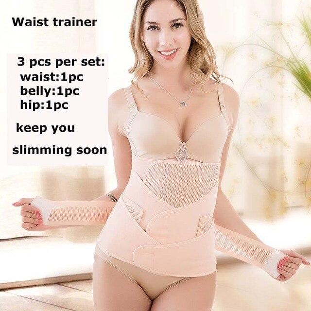 Waist Support Puerpera Belt Waist Trainer Shapers Slimming Belt Body Shapers Belt Sweat Sauna Fitness Corset Trimmer Girdle Belt