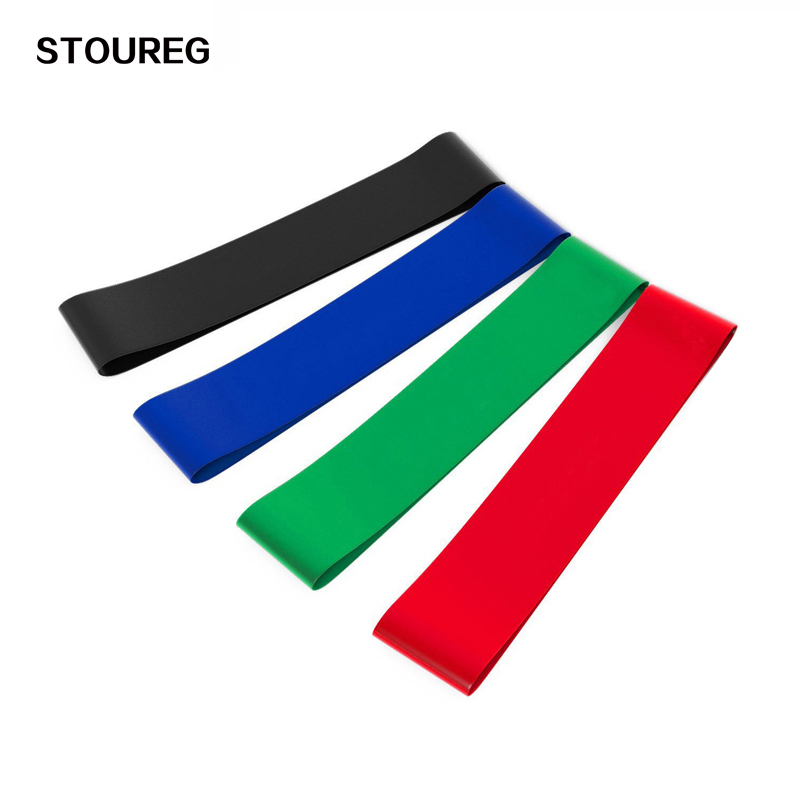 STOUREG Elastic Resistance Bands Workout Rubber Loop For Fitness Gym Strength Training Elastic Bands Fitness Equipment Expander durable gym fitness rally elastic rope total body workout tool home exercise sports strength training equipment health care