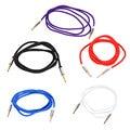 3.5mm AUX Cable de Nylon de Metal Shell Coche Auxiliar Jack Macho a Macho Cable de Audio Estéreo Cable Convertidor Adaptador De Auriculares Cable