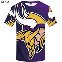 KYKU Brand viking shirts 3d t-shirt anime t-shirts men t shirts male shirt size 2017 mens clothes chinese printed tee shirts